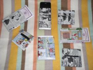 portafogli in carta riciclata