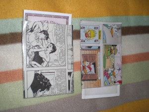 porta documenti dylan dog e topolino