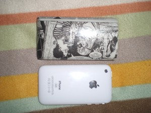 custodia iPhone dylan dog carta riciclata
