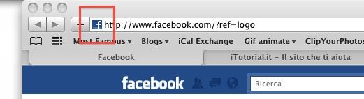 Icona facebook per mac